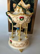 Hallmark 1995 Tobin Fraley Holiday Carousel Series Ornament Light & Music - $12.00