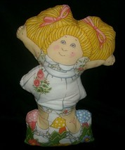 "14"" Vintage Cabbage Patch Kids Girl Doll Fabric Pillow Stuffed Animal Plush Toy - $23.38"