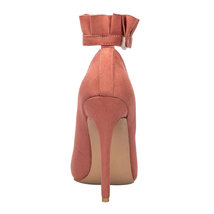 High Shoes Buckle Strap Party Ruffles Track Pumps Road Sexy Heels Spring Women vqOn0f
