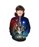 Stranger Things Kid 3D Hoodie Sep Series Pullover Sweatshirt Pattern A - $19.99
