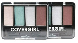 2 Ct Covergirl 0.19 Oz 224 Prom Queen 4 Palette Blendable Eye Enhancers Shadow - $16.99