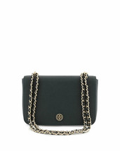 NWT Tory Burch Emerson Adjustable Shoulder Cross-body Bag Black 001 - $249.95