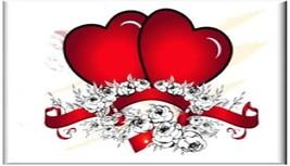 Heart w/ Flowers Refrigerator Magnet - $1.99+