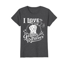 Cool Vintage Decoration I Love My Golden Retriever T-shirt - $19.99+