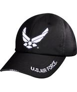 Black US Air Force Ball Cap Adjustable Tactical USAF Military Hat Summer... - $16.99