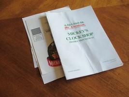 Mr. Christmas Mickey Mouse Clock Shop Instruction Manual w/ 2 Bulbs no Tool - $14.24