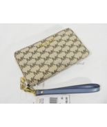 Michael Kors Jet Set Travel Multi-Function Phone Wallet/Wristlet Natural... - $99.00