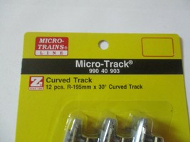 Micro-Trains Micro-Track # 99040903 Track Curved R-195MM 30 Degree  Z-Scale image 2