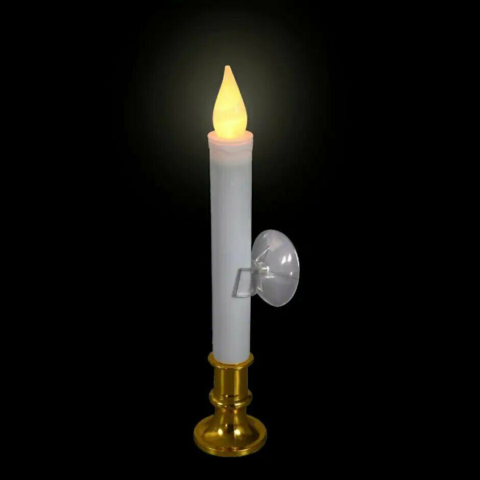 Christmas House LED Window Taper Candle  - $5.99