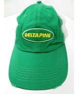 Deltapine Plant Growth Farming Adjustable Adult Ball Cap Hat - £10.09 GBP
