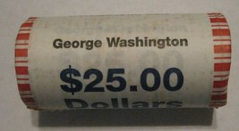 2007 Four (4) Presidential rolls Washington Adams Jefferson Madison CP8330 - $142.50