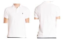 Men's Polo Ralph Lauren Polo Solid Polo Shirt ‑ White, Size XXL - $49.49