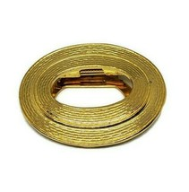 Anne Klein For Nordstrom Vintage Oval Gold Tone Scarf Clip New NOS - $12.00