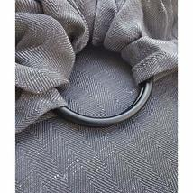 The Sling | Ring Sling Baby Carrier | Graphite + Smoke Grey