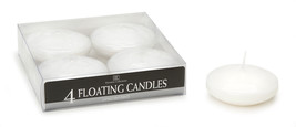 Floating Candles Disk White Unscented 3 Inch - $16.97