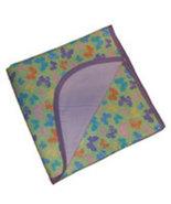Preemie & Newborn Baby Girls Butterfly Flannel Receiving Blanket - $17.00