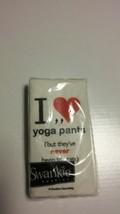 Creative Converting Swankies I Love Yoga Pants Decorative Pocket Tissue.... - ₨918.39 INR