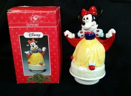 50TH Anniversary DISNEY SCHMID Music Box Minnie... - $13.55