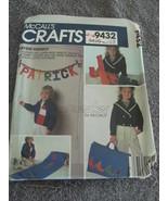 McCalls Vintage Craft 9432 Alphabet Package Pattern - $6.99