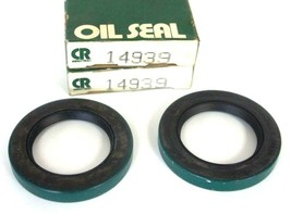 LOT OF 2 NIB CHICAGO RAWHIDE 14939 OIL SEALS 1.5 X 2.25 X .313