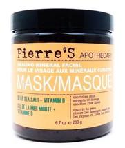 Pierre's Apothecary Healing Mineral Facial Mask Dead Sea Salt + Vitamin ... - €16,14 EUR