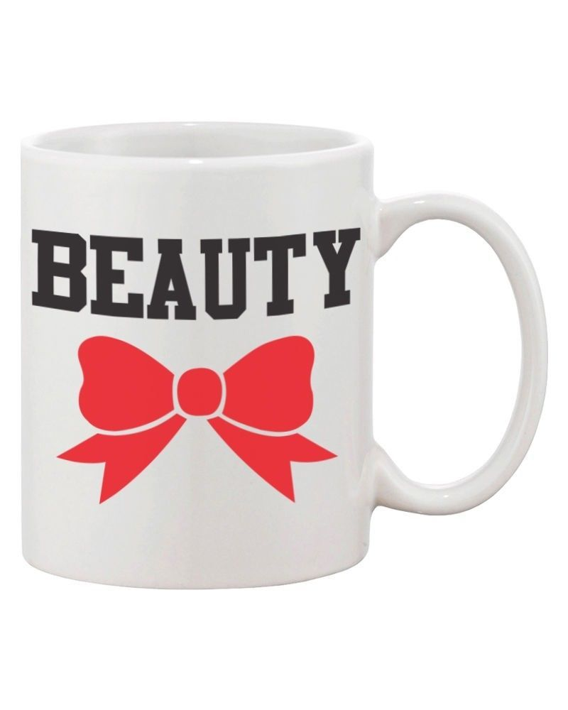Beauty and the Beast Matching His and Hers Couple Coffee Mugs (MC040)