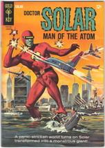 Doctor Solar Comic Book #10, Gold Key 1965 VERY FINE-/VERY FINE - $31.85