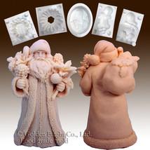 Santa W/robe Carrying Bag-Silicone Soap/sugar/fondant/chocolate/marzipan... - $79.00