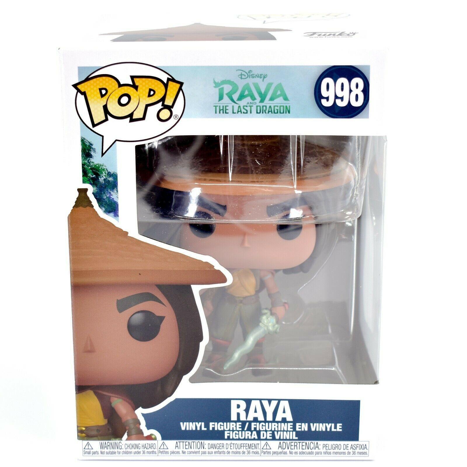 Funko Pop! Disney Raya and the Last Dragon Raya w Hat & Cape #998 Vinyl Figure