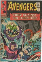 Avengers #27 ORIGINAL Vintage 1966 Marvel Comics Captain America Scarlet... - $79.19