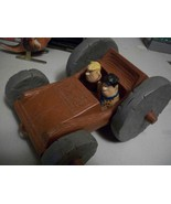 UNIQUE 1976 FLINTSTONES TOY FLIP CAR IN SUPERB CONDITION! LOOK AT PHOTOS!! - $25.74