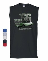 Dodge Charger '66 Muscle Shirt American Classic Muscle Car Sleeveless - $11.42+