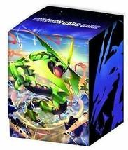 Pokemon card game deck case Mega Rayquaza - $42.96