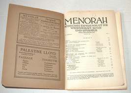 MENORAH Judaica Rare Illustrated Monthly for the Jewish Home August 1928 Austria image 3