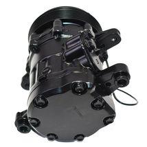 A-Team Performance HC5005C A/C Compressor Sanden SD-7 Type Aluminum Black image 4