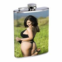 Norwegian Pin Up Girls D9 Flask 8oz Stainless Steel Hip Drinking Whiskey - $13.81