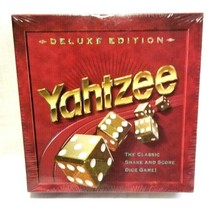 Yahtzee Deluxe Edition Board Game NEW factory sealed MB Milton Bradley 1997 - $69.27