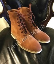 Leather Jodhpur Men Boots Leather dress boots Custom Made Men Boots Handmade - $158.39 - $178.10