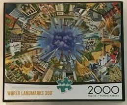 World Landmarks 360 Degrees 2000 Piece Jigsaw Puzzle by Buffalo Games - $29.70