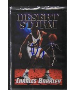 Charles Barkley Signed Autographed 1994 Skybox Desert Storm Basketball C... - $39.95