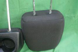 11-15 Dodge Journey 2nd Row Black Cloth 3 Headrests Headrest w/ Cupholder image 12