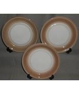 Set (3) Denby SEVILLE PATTERN  Dessert or B&B Plates MADE IN ENGLAND - $29.69