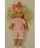 Mattel 14-38gq Vintage Light Up Baby Doll 17in Plastic Fabric - $22.84