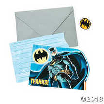 Batman Thank You Cards - $4.99