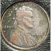 1919-S Lincoln Wheat Back Penny F/VF Details #0970 - $0.99