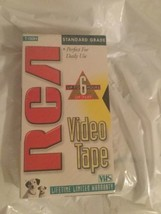 NEW RCA Sealed Blank -6hrs vhs video cassette 120-minutes (1-pack)- standard - $5.00