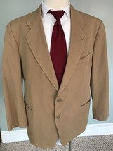 Mens Emporio Armani Sport Coat Jacket Tan Made In Italy - $69.29