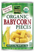 Native Forest Organic Cut Baby Corn, 14-Ounce Cans Pack of 6