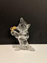 "Lenox Disney Snow White ""Daisies From Dopey"" Crystal Figurine - $39.60"
