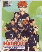 DVD HAIKYUU Season 1-3 Vol.1-60End + 2 Movie En... - $39.99